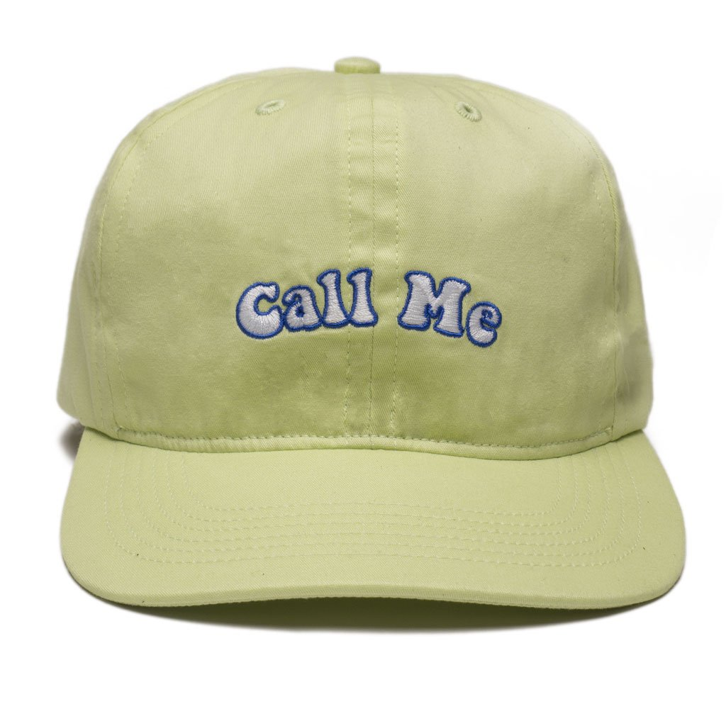 Call Me 917 6 Panel Hat Groovy Mint