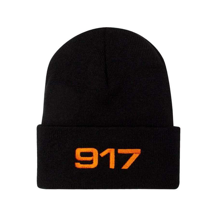 Call Me 917 Beanie Racing Black/Orange