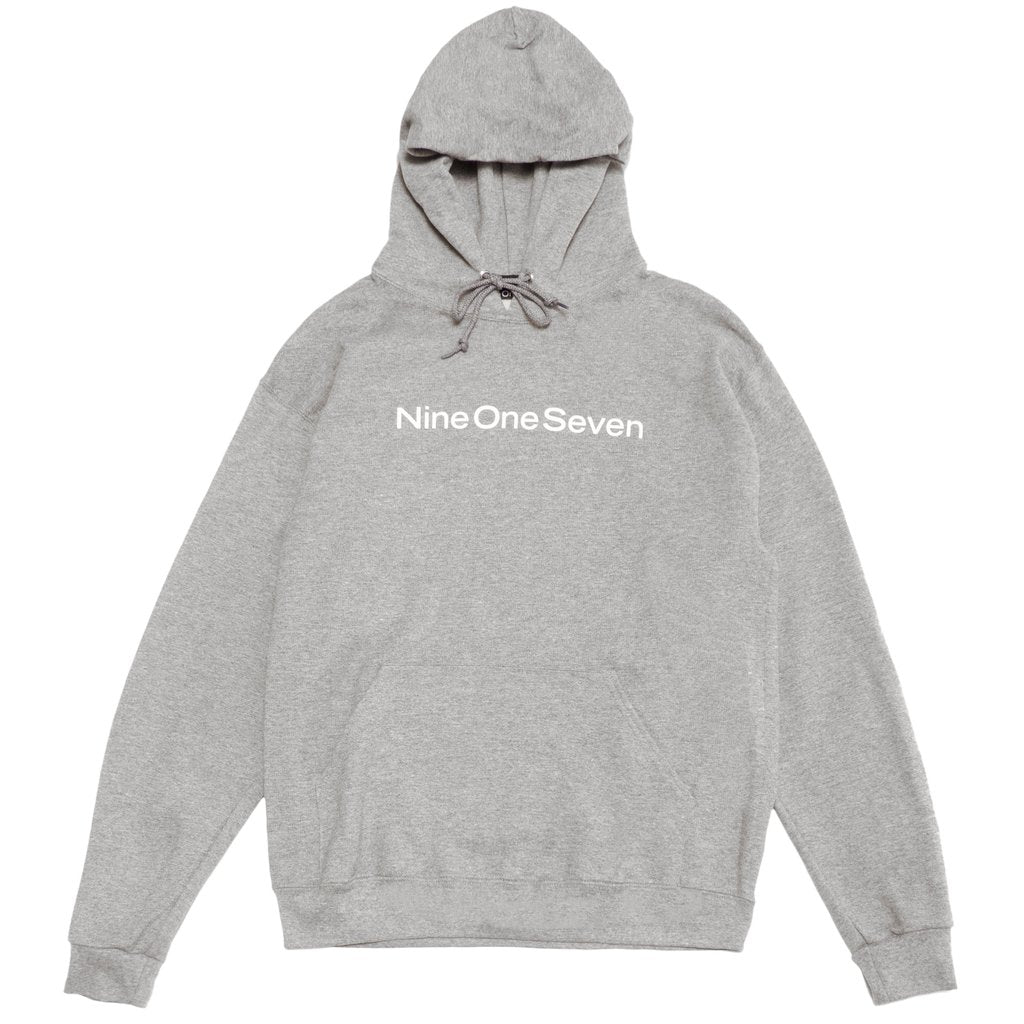 Call Me 917 Hood Logotype Heather Grey