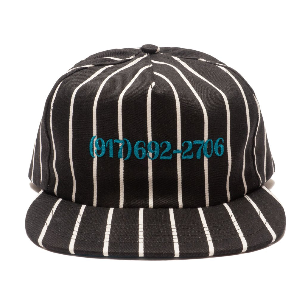 Call Me 917 Snapback Hat Dialtone Stripe Blue