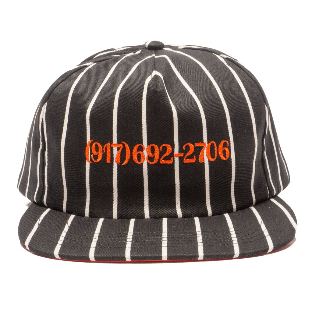 Call Me 917 Snapback Hat Dialtone Stripe Orange