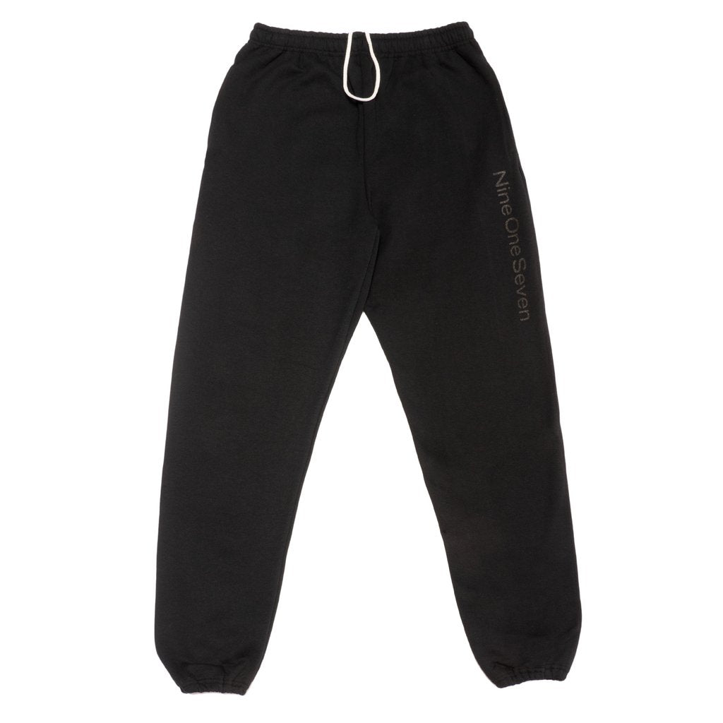 Call Me 917 Sweatpants Logotype Black