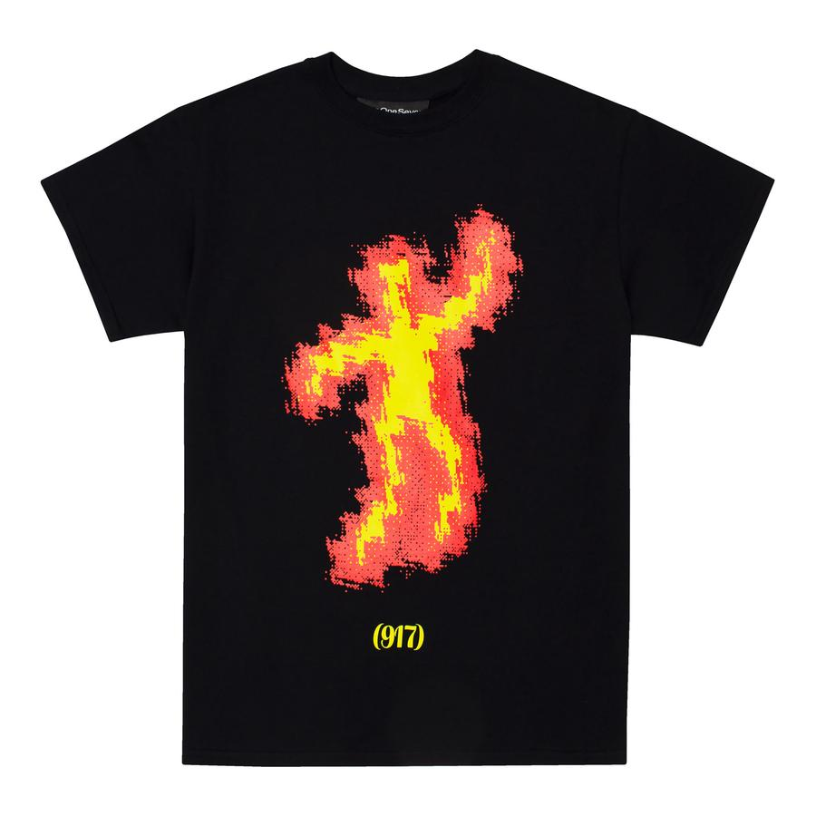 Call Me 917 T-Shirt Scorched Black