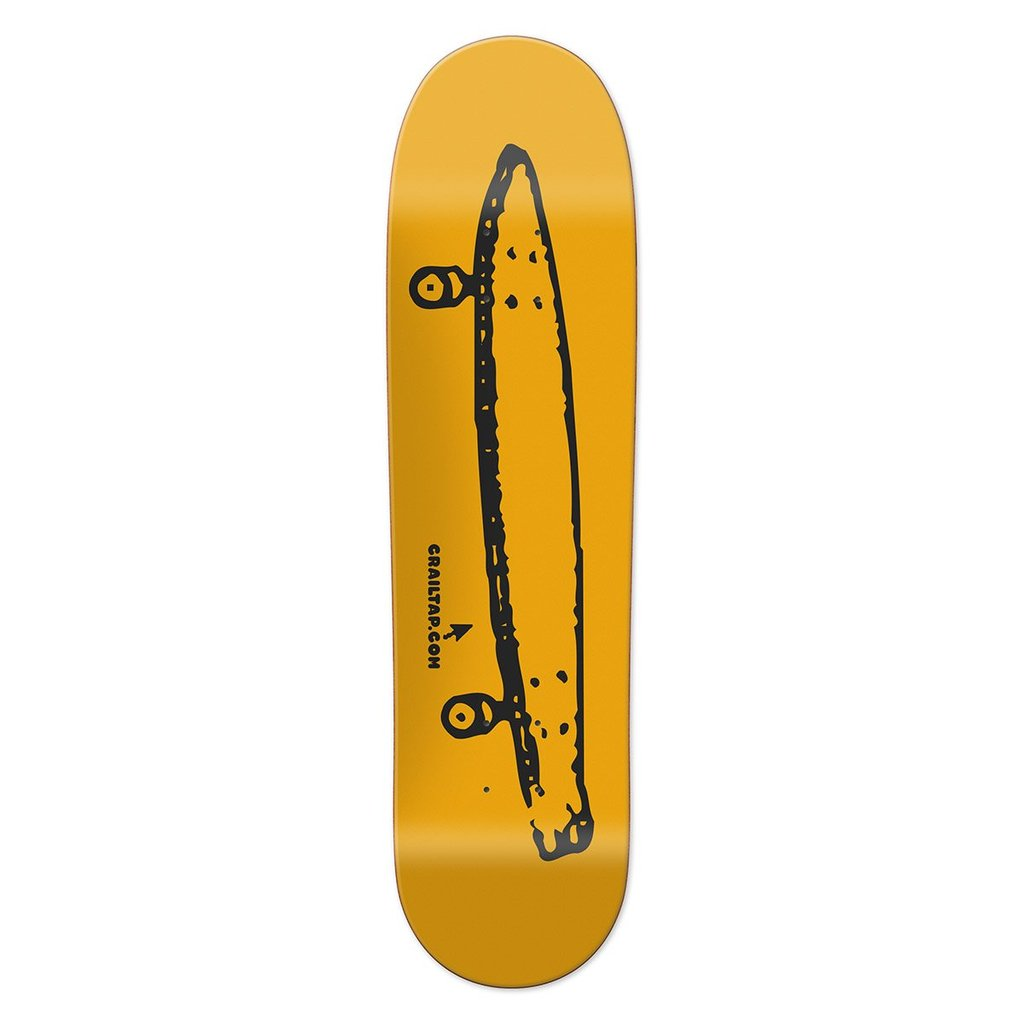 Chocolate Deck Skidul Crailtap Logo Gold 8.5""