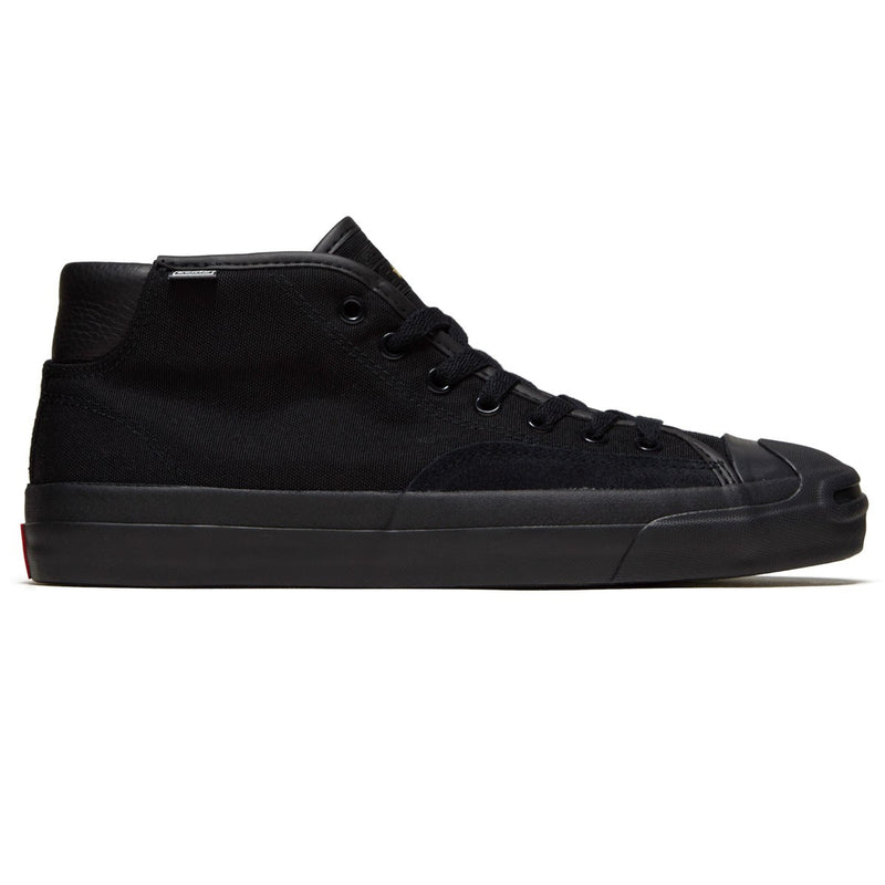 Converse Jack Purcell Pro Mid Black/Enamel Red