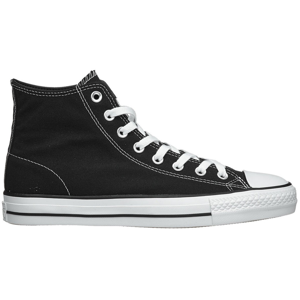 Converse CTAS Pro Hi Black/Black/White Canvas