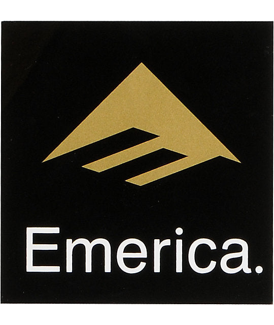 Emerica Sticker Logo 3 Black