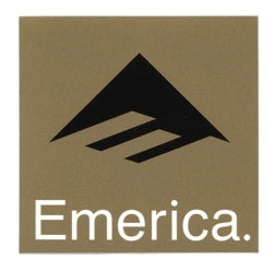 Emerica Sticker Logo 3 Gold