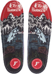 Footprint Insoles Terje Salmon Game Changers