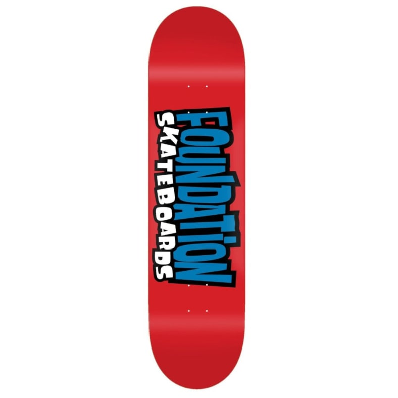 Foundation Deck From The 90s 8.0""