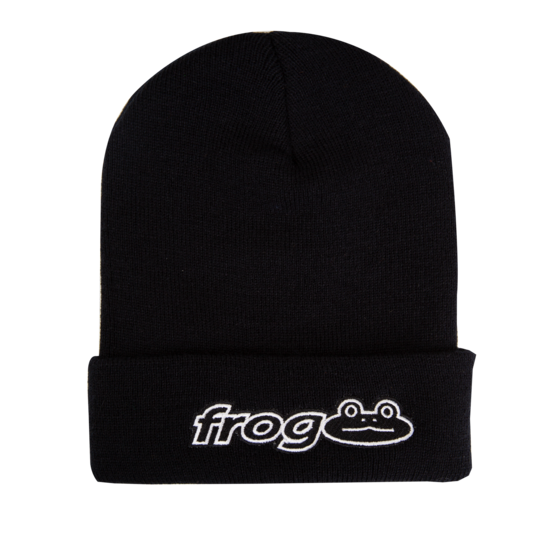 Frog Beanie Frog Works Black