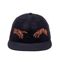 Fucking Awesome 6 Panel Hat NAK Hands Black