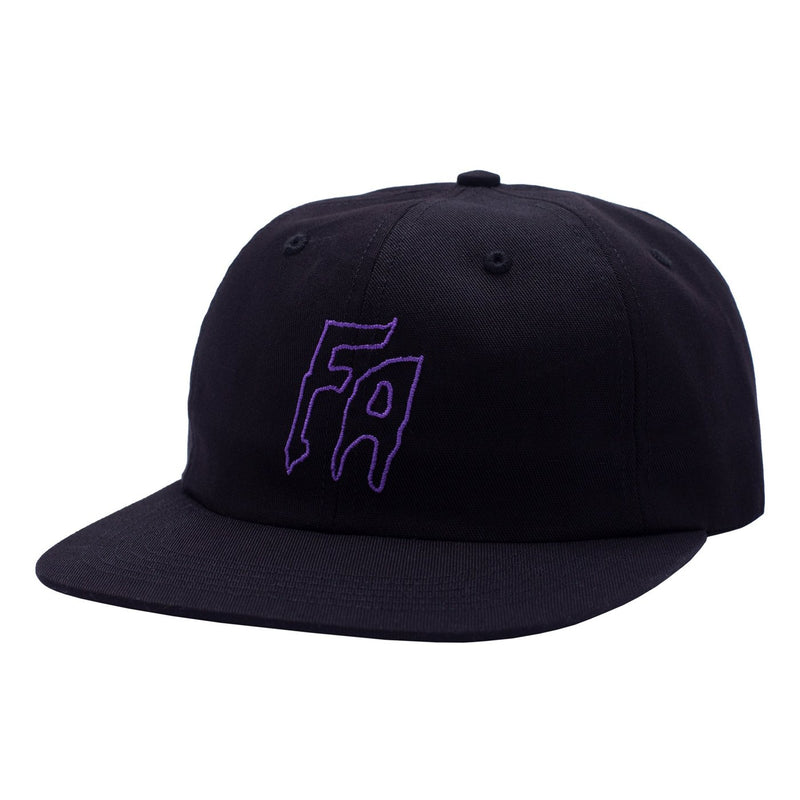 Fucking Awesome 6 Panel Hat Seduction Of The World Black