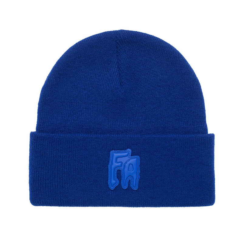Fucking Awesome Beanie FA Applique Royal