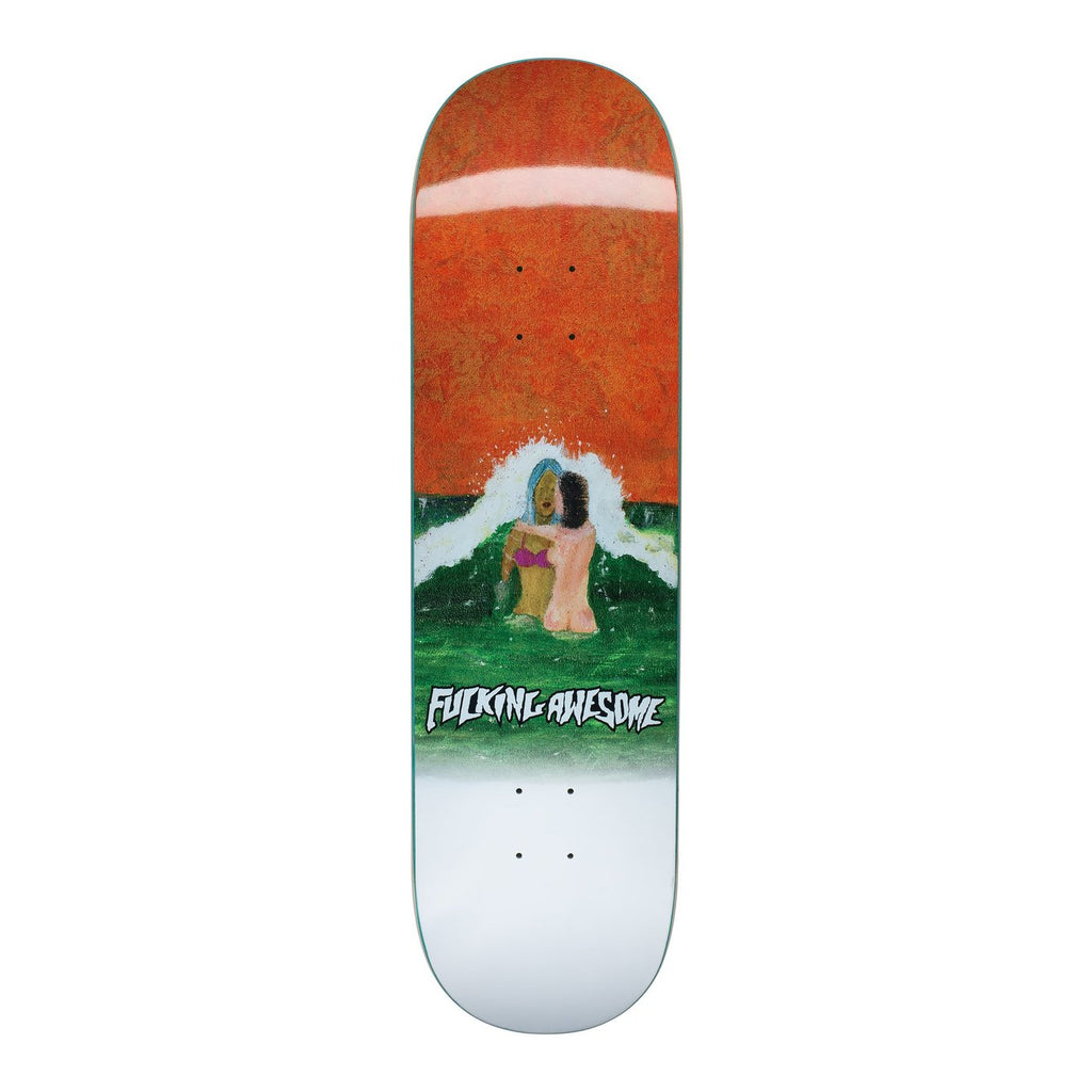 Fucking Awesome Deck Wave Painting 8.25""