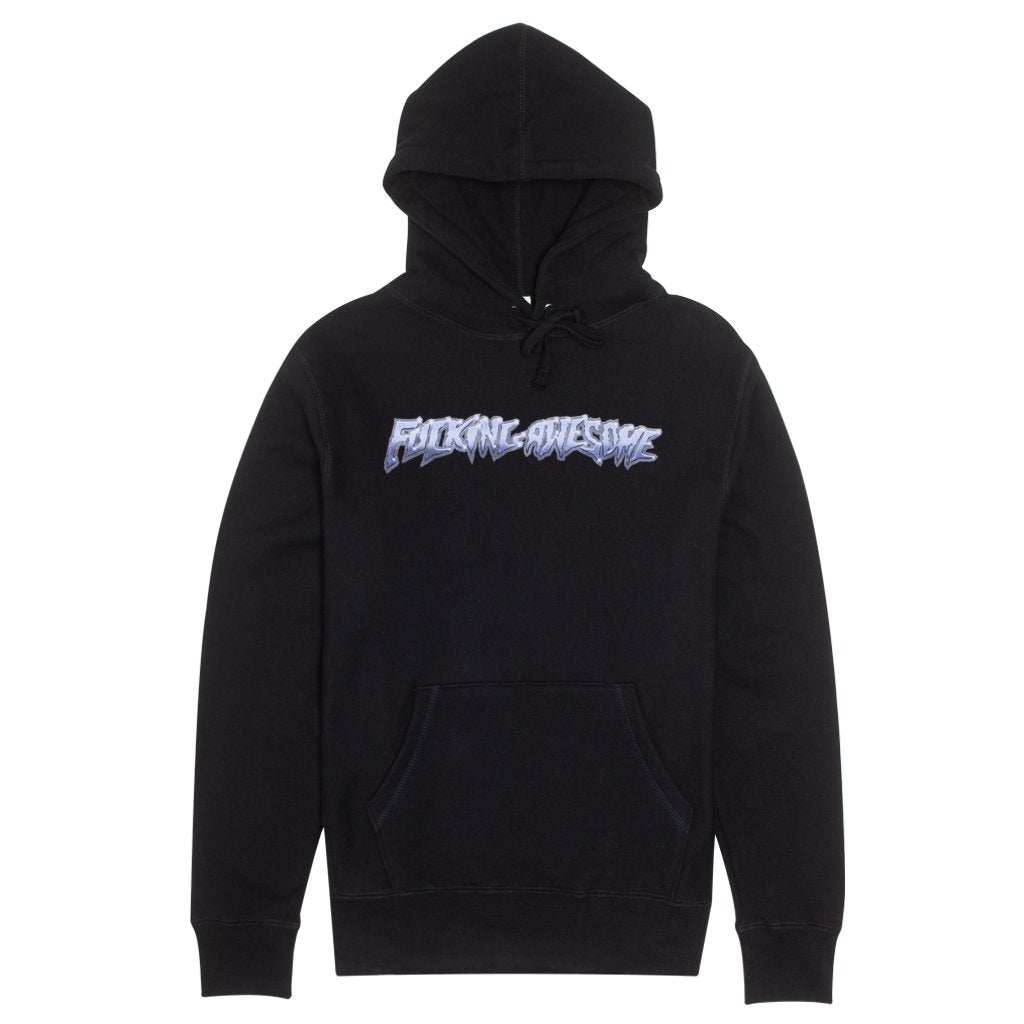 Fucking Awesome Hoodie Chrome Black