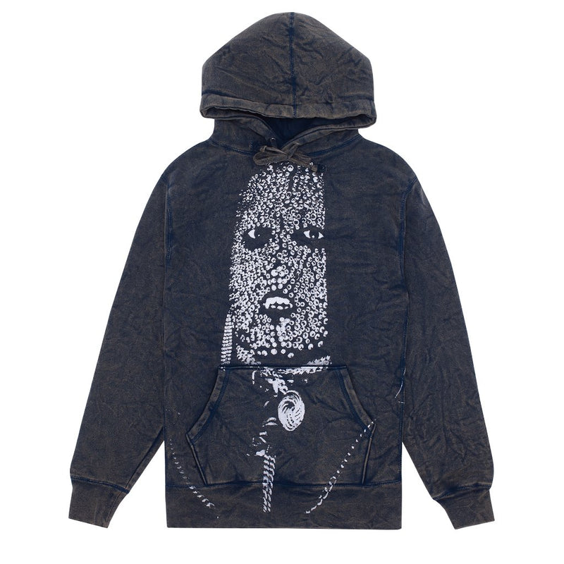 Fucking Awesome Hoodie Metal Face Mineral Navy
