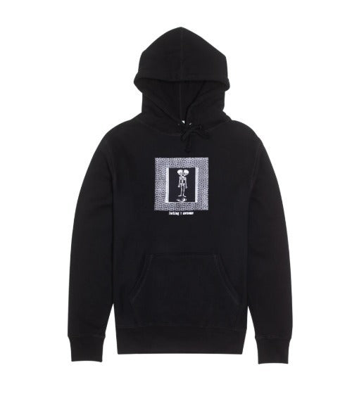 Fucking Awesome Hoodie Twin Skull Baby Black