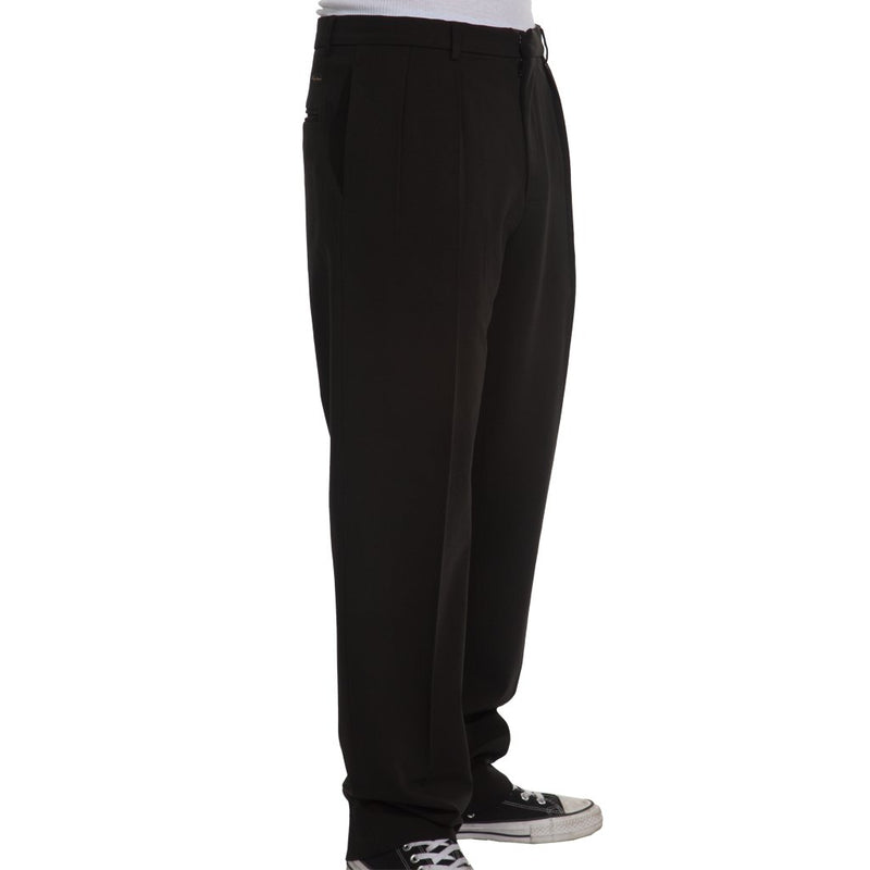 Fucking Awesome Pleated Pants Black