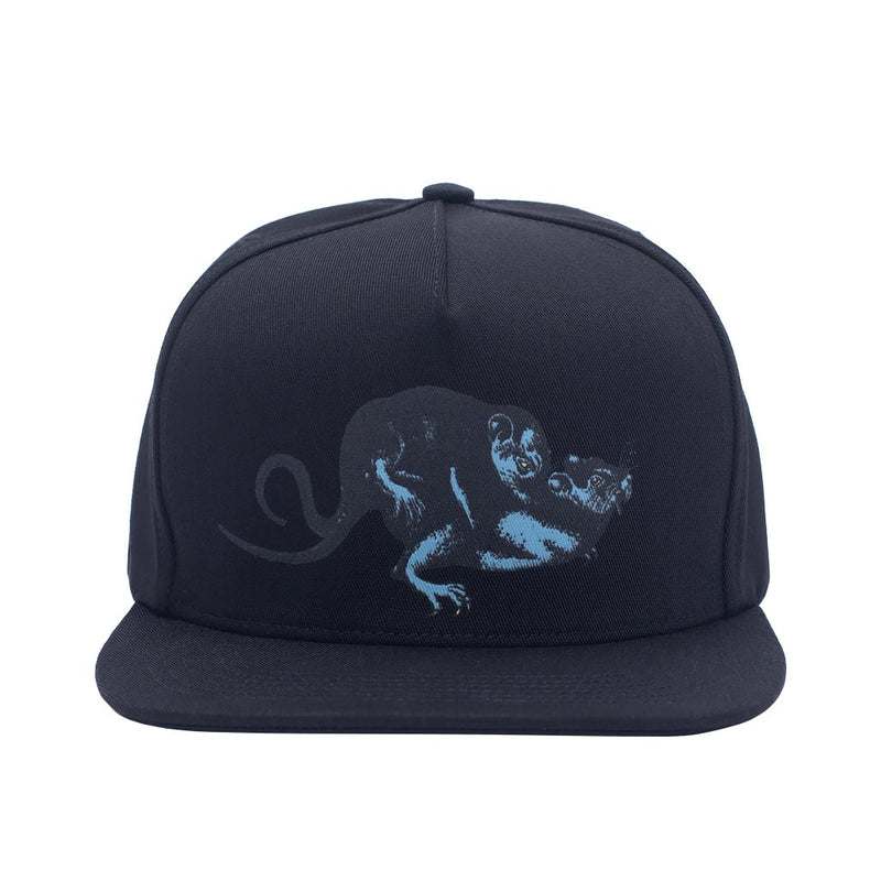 Fucking Awesome Snapback Hat Rat Pack Black