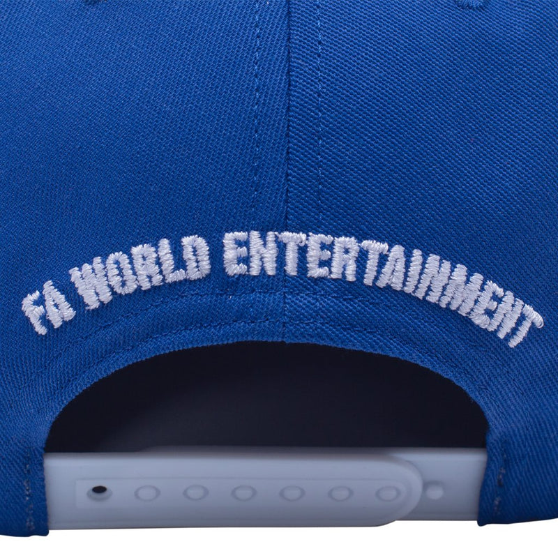 Fucking Awesome Snapback Hat Rat Pack Royal
