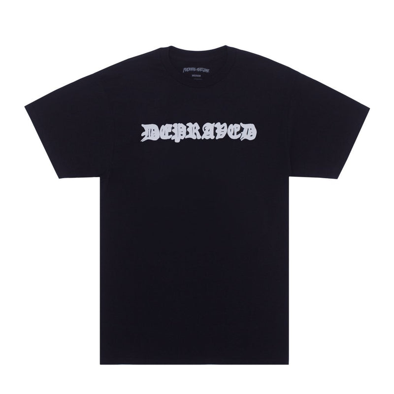 Fucking Awesome T-Shirt Depraved Black