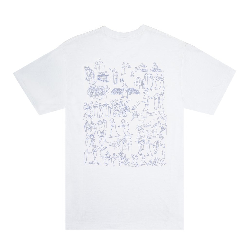 Fucking Awesome T-Shirt Regions White
