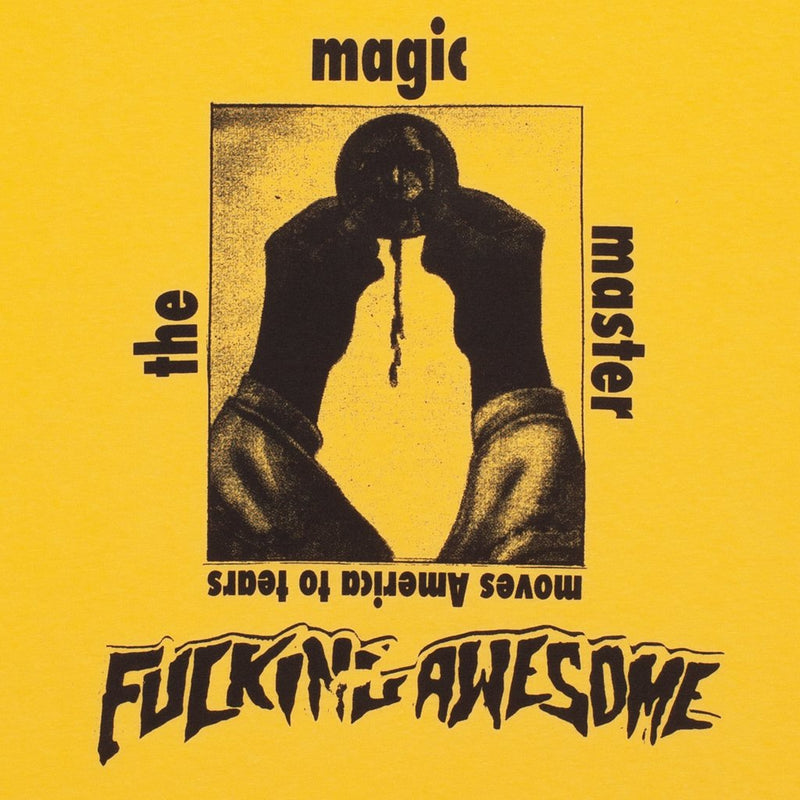 Fucking Awesome T-Shirt The Magic Master Yellow