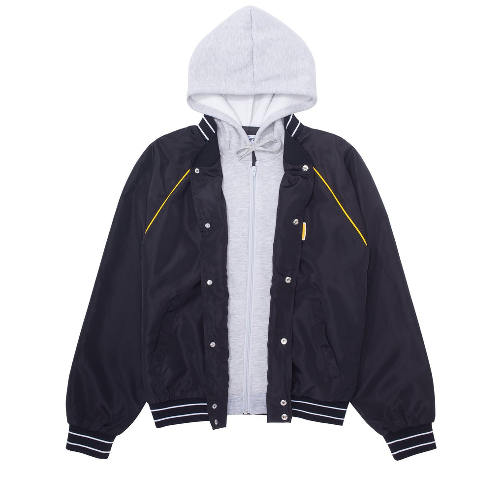 Fucking Awesome jacket Okayama Bomber Black/Heather Grey