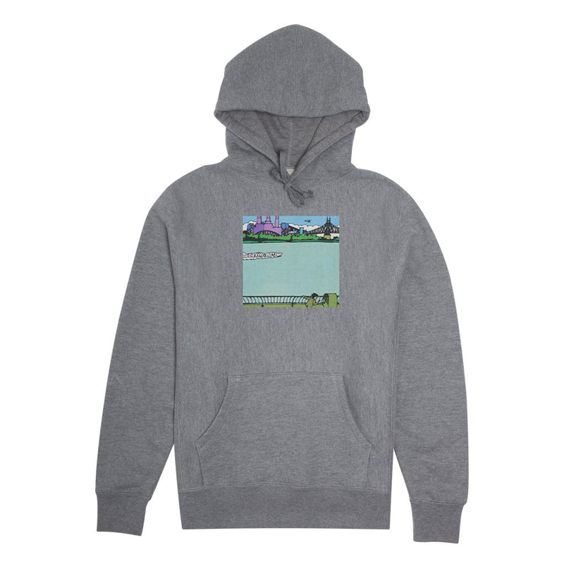 Fucking Awesome Hoodie Boat Heather Grey