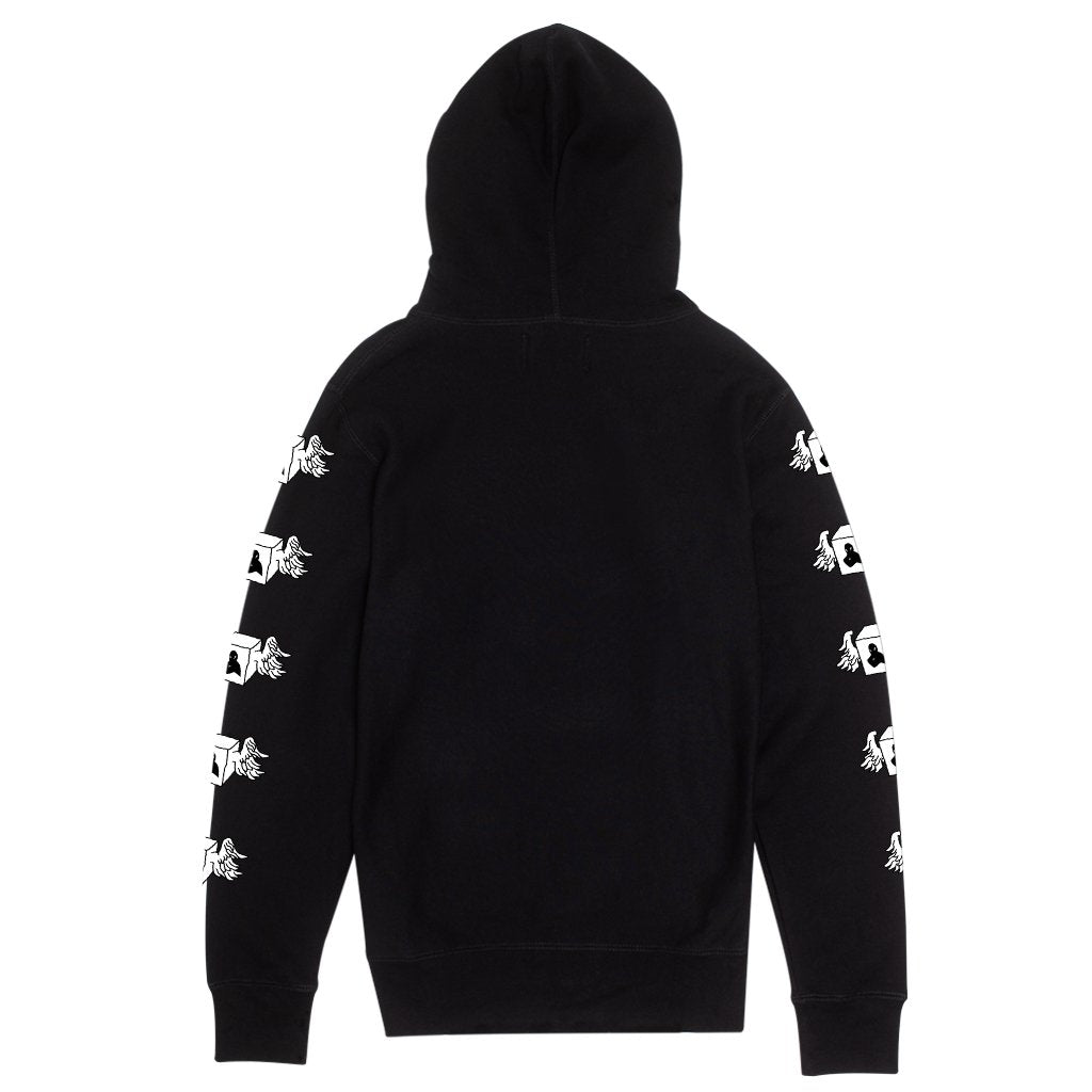 Fucking Awesome Hoodie Box Wings Black