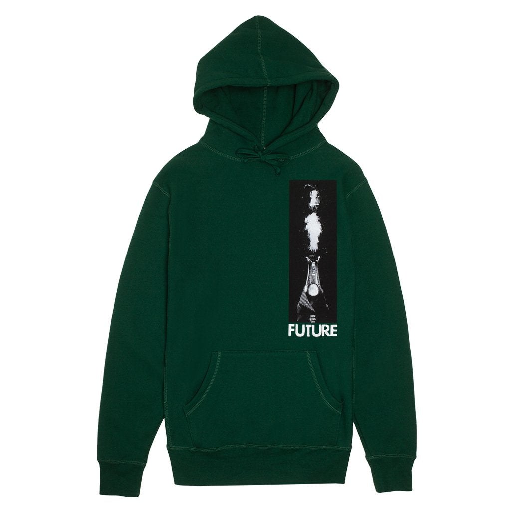 Fucking Awesome Hoodie Pop Hunter Green