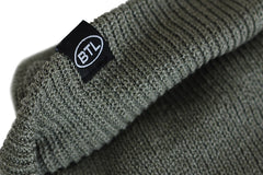 Blue Tile Lounge Premium Beanie Smoking Jay Moss Green