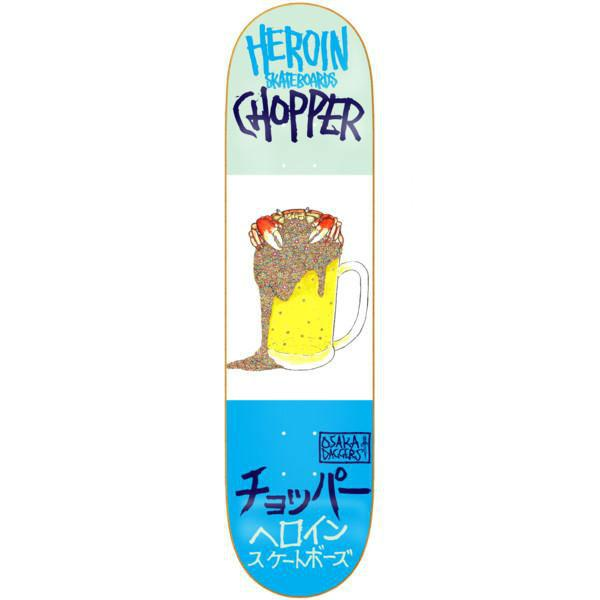 Heroin Deck Chopper Beer Crab 7.75""