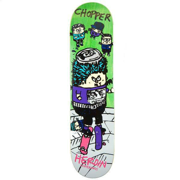 Heroin Deck Chopper SKGBRDS 7.875""