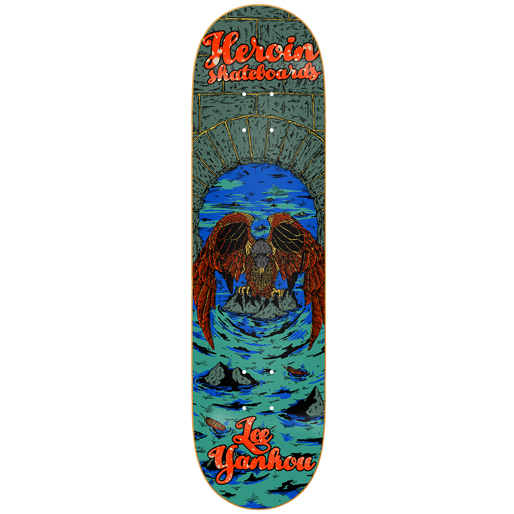 Heroin Deck Yankou Illusion 8.25""