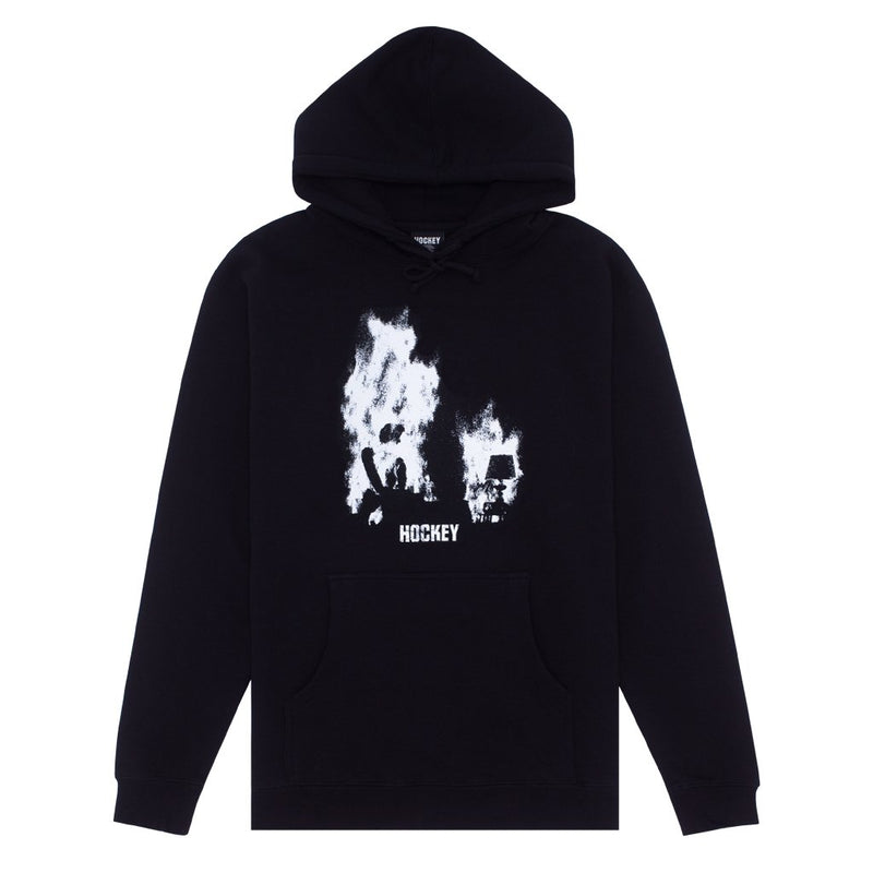 Hockey Hoodie At Ease Black/White