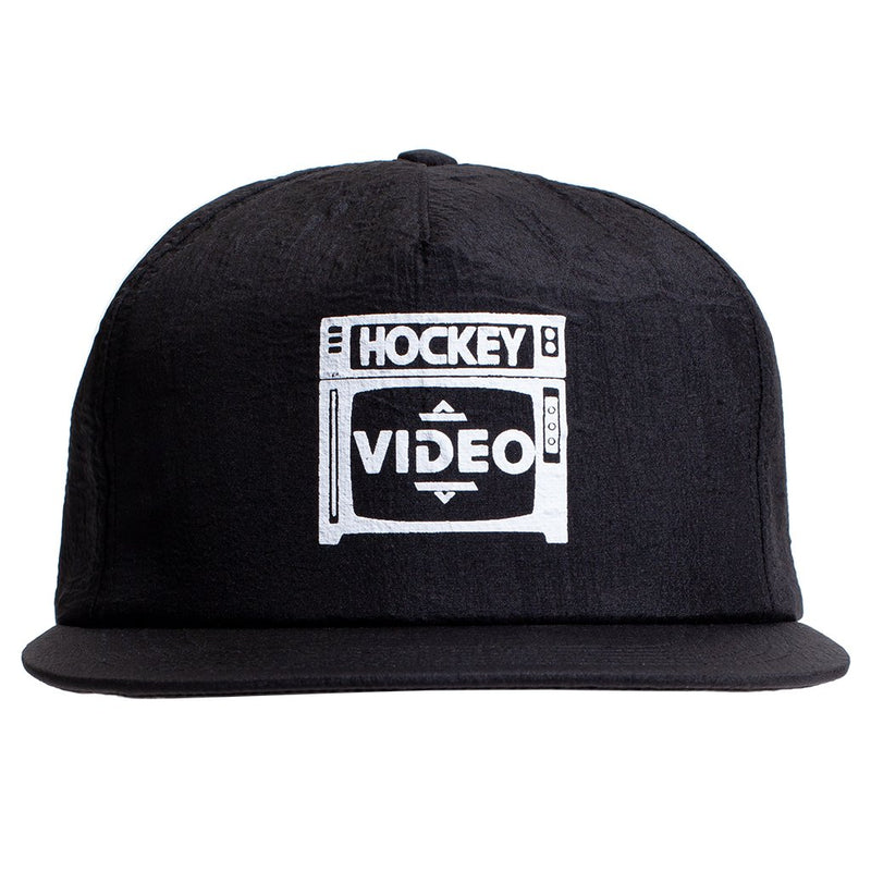 Hockey Snapback Hat Budget Video Black
