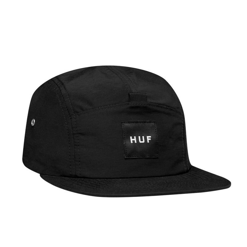 Huf 6 Panel Hat 98 Logo Black