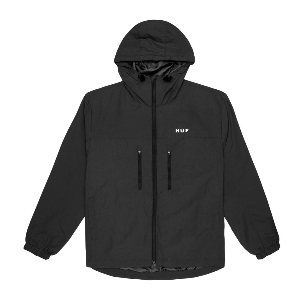 Huf Jacket Essentials Zip Standard Shell Black
