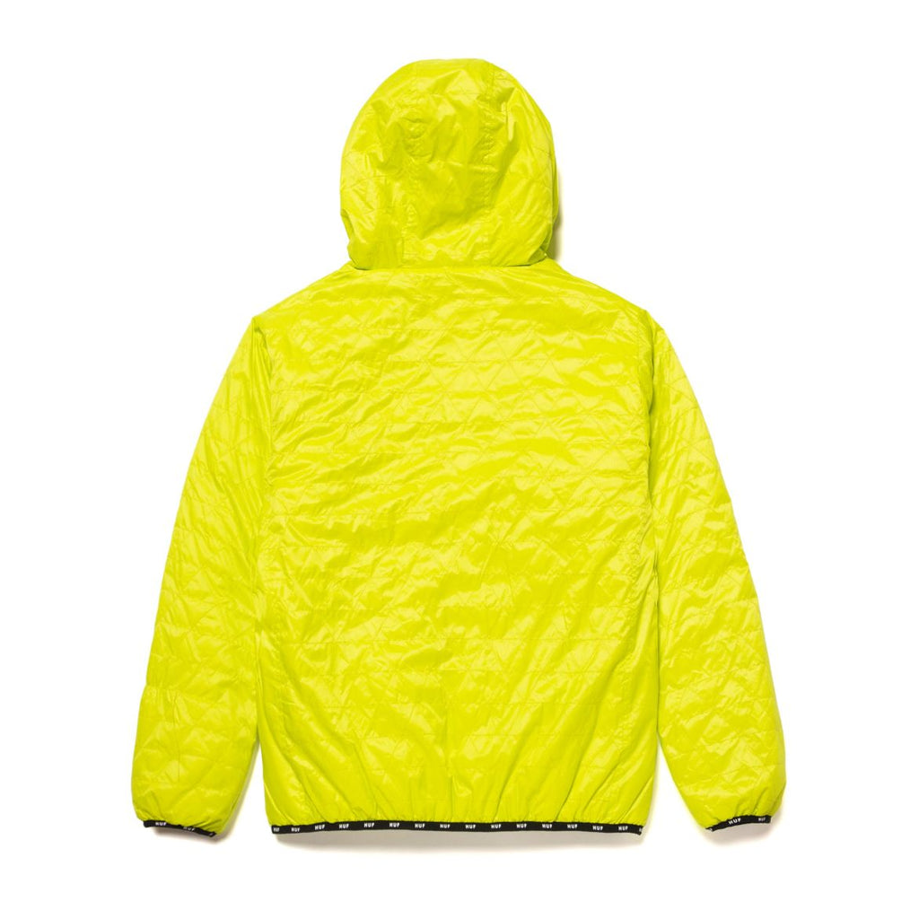 Huf Jacket Polygon Quilted Bio Lime