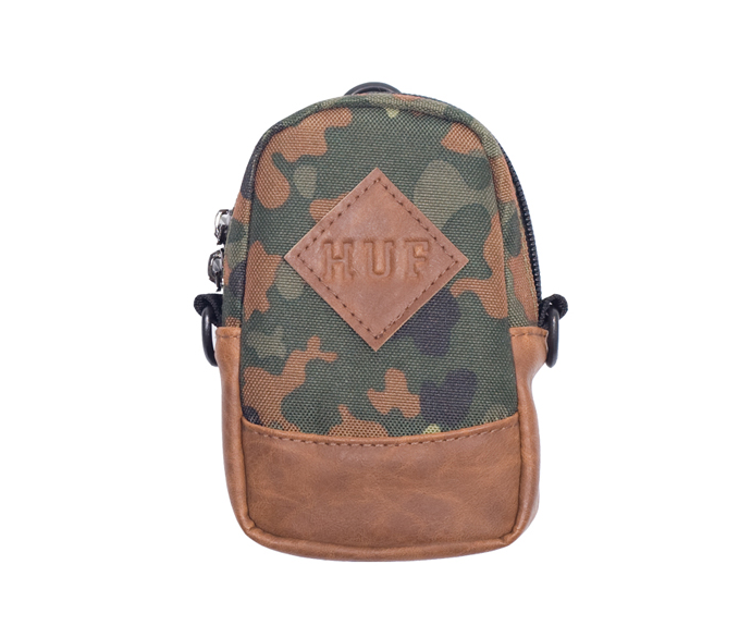 Huf Woodland Camo Camera Case