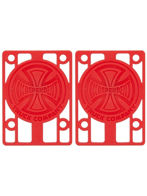 Independent Risers Red 1/8""