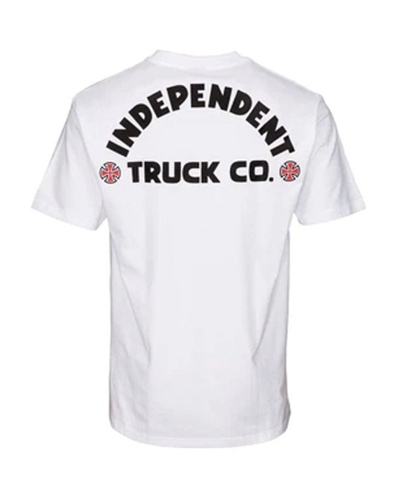 Independent T-Shirt ITC Bold White