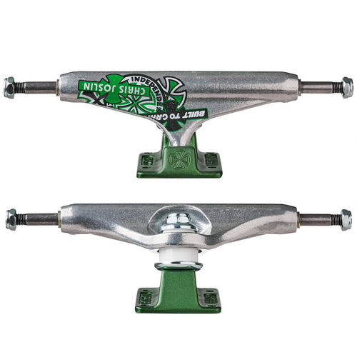 Independent Trucks Forged Hollow Stage 11 Joslin Silver/Green 139