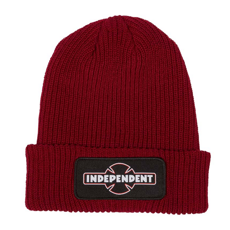 Independent Beanie Duel Pipeline Red