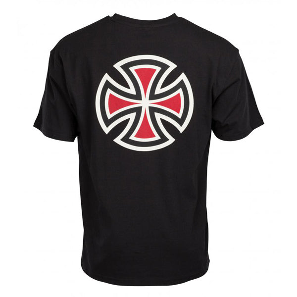 Independent T-Shirt Bar/Cross Black