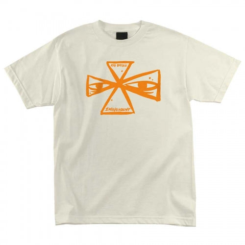 Independent T-Shirt Barbee Cross Cream