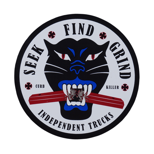 Independent Trucks Sticker Curb Killer