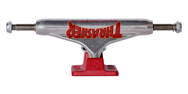 Independent Trucks Thrasher BTG Silver/Red Stage 11 159